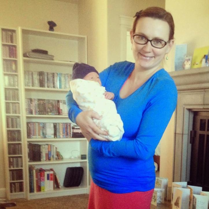 6 days after birth - Bridget Hales