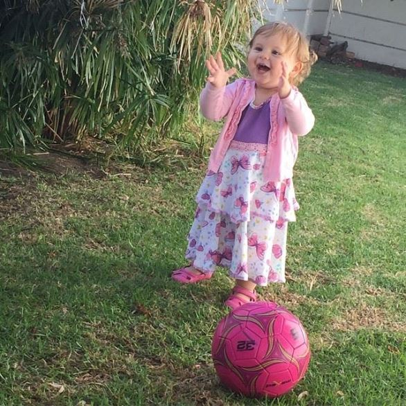 My sporty girl