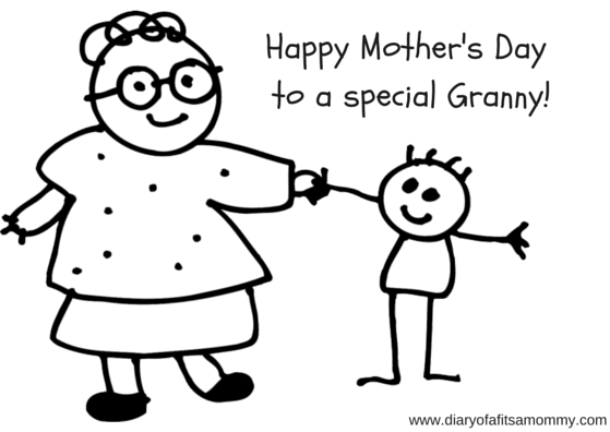 Happy Mother's Day For a special Granny!